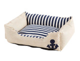 Durable Canvas and Linen Anchor Pet Bed (Clearance) product image