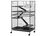 Rolling Pet Cage with Slide Out Tray and Hammock (Clearance) product image