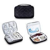 Di & Drew Large Quilted Velvet Travel Jewelry Case product image
