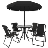 6-Piece Outdoor Patio Dining Set with Umbrella product image