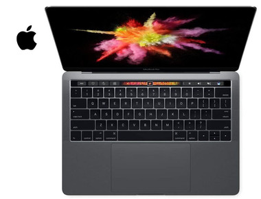 """Apple 13.3"""" MacBook Pro with Touch Bar (Mid 2018, Space Gray) product image"""