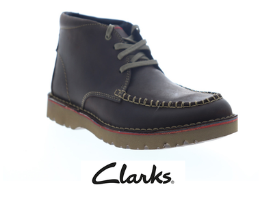 Clarks Vargo Apron Brown Leather Chukkas Boots product image