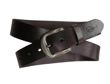Amerileather Men's Dark Brown Modern Leather Belt product image