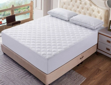 Lux Decor Quilted Mattress Cover Protector product image