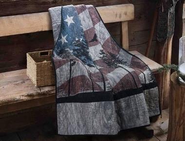 Donna Sharp Free Bird Cotton Throw Blanket product image