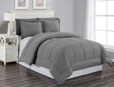 Striped Down Alternative 3-Piece Comforter Set product image