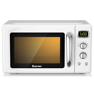 Retro Countertop Compact 0.9 Cu. Ft. Microwave Oven product image