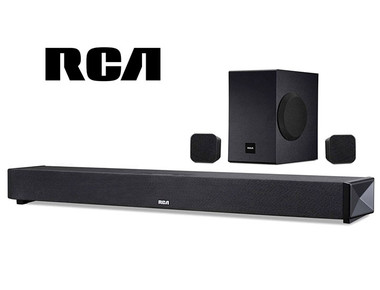 RCA 5.1 Channel Wireless Bluetooth Soundbar System product image