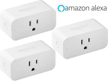 Amazon Wi-Fi Smart Plug for Alexa (3-Pack) product image