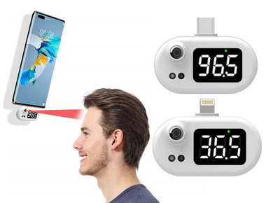 Pocket Infrared Smartphone Thermometer product image