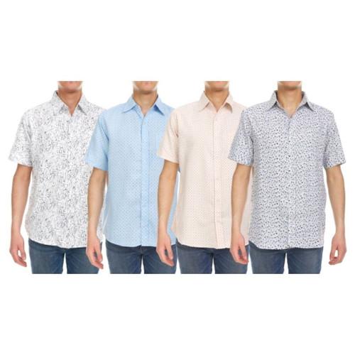 Men's Short Sleeve Printed Shirt product image