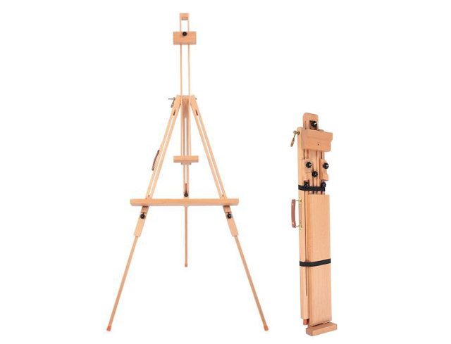 Large Beech Indoor and Outdoor sketching Triangle Easel