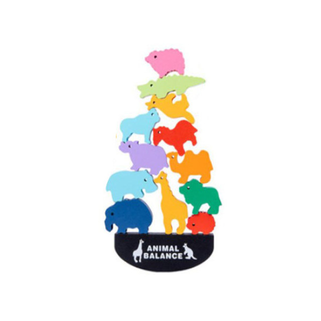 Montessori Animal Wooden Blocks