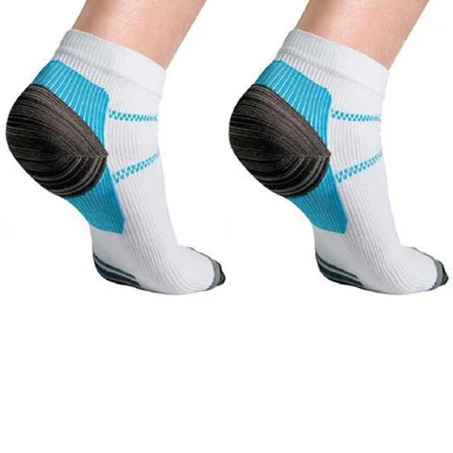 6-Pair High Energy Ankle Compression Socks
