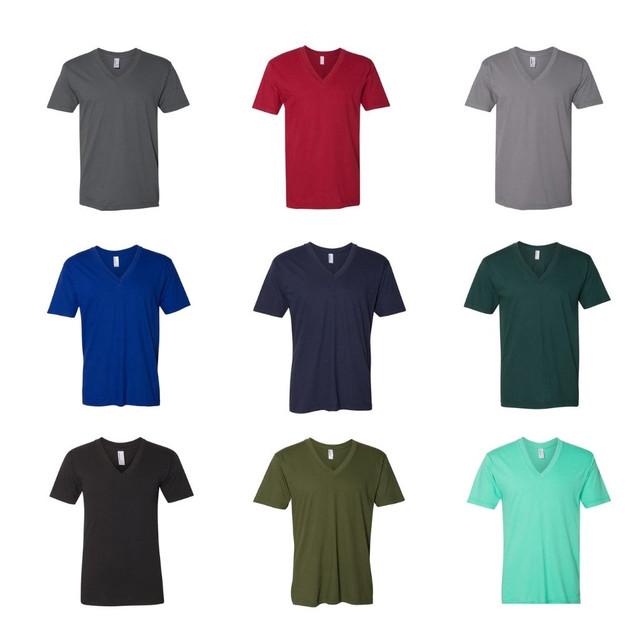 American Apparel Men's Short-Sleeve V-Neck T-Shirt (5-Pack) $24.99 (81% OFF)