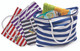 Beach Tote Bag with Large Inner Zipper Pocket and Rope Handles product image