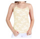 Women's Spandex Nylon Seamless Camisole Lace Top product