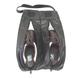 Black Leather Golf Shoe Bag  product