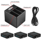 Artman GoPro Hero 5/6/7 Batteries (3-Pack) and 3-Channel Charger product