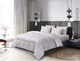 Oslo 240-tc Cotton White Goose Down and Feather Comforter product