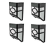Decorative Solar LED Wall Mounted Light (4-Pack) product
