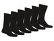 Men's Solid Plain Black Dress Socks (48 Pairs) product