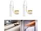 Battery Powered Motion Sensor LED Light Strip (2-Pack) product