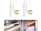 Battery Powered Motion Sensor LED Light Strip (2-Pack) product image