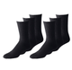 Mechaly White, Black, or Gray Crew Socks (24-Pairs) product