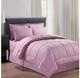Manhattan Lights 8-Piece Stripe or Vine Microfiber Bed-in-a-Bag product