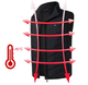Electric Heated Vest with Temperature Control (Requires Power Bank) product