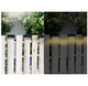 Outdoor Waterproof Solar Fence Light (4-Pack) product