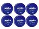 Nivea Creme Metal Tin Cream (6-Pack) product