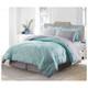 Bibb Home 8-Piece Printed Down Alternative Comforter Set product