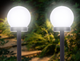 Outdoor Waterproof Solar Ball Lawn Light (2-Pack) product