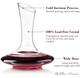 Bella Vino Premium Crystal Wine Decanter product