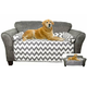 Chevron/Solid Reversible Furniture Protector product