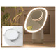 Dimmable LED Light Beauty Vanity Mirror with Humidifier product
