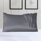 100% Silk Queen Pillow Cover with Trim product