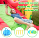 Portable Pirate Style Inflatable Bounce House (With or Without Blower) product