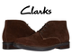 Clarks Paulson Men's Brown Suede Chukkas Boots product