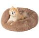 Fluffy Luxurious Orthopedic Donut Dog Bed product
