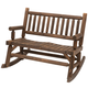 2-Person Wooden Rocking Bench product