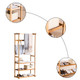 Multifunctional 3-Tier Bamboo Garment Rack product
