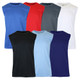 Men's Moisture Wicking Performance Muscle Tee (6-Pack) product