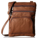 Leather Crossbody Bag with Shoulder Strap product