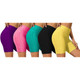 Women's Ruched High-Waist Shorts (3-Pack) product