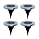 Solar 8-LED Pathway Disk Light (4-Pack) product