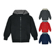 Kids' Sherpa-Lined Fleece Full-Zip Hooded Sweatshirt Jacket product