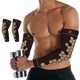 Copper Infused Arm Compression Elbow Support Sleeve (1-Pair) product